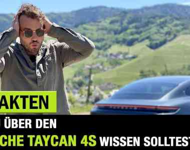 2020 Porsche Taycan 4S, Jan Weizenecker