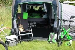 Reisen mit dem Skoda Campingzelt