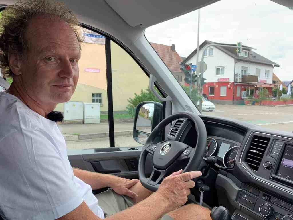 Der VW e-Crafter: Kleintransport ohne lokale Abgas-Emissionen; Dr Friedbert Weizenecker