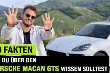 10 Fakten, die Du schon immer über den Porsche Macan GTS (2020) wissen wolltest! Fahrbericht | Review | Sound, Jan Weizenecker