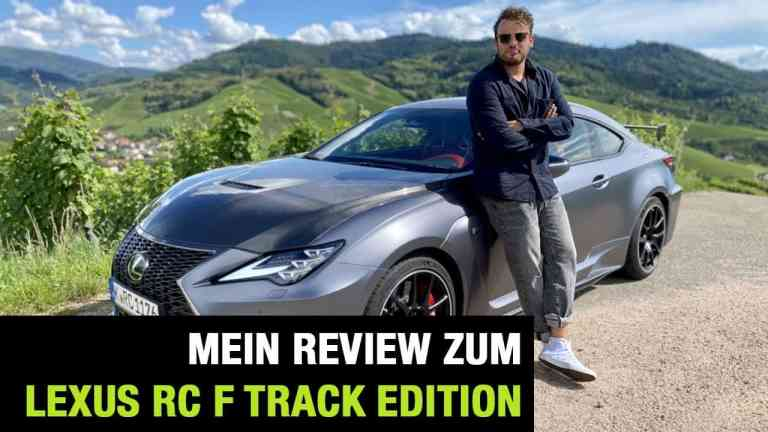 2020 Lexus RC F Track Edition (464 PS) - Hot or Not?- Fahrbericht | Review | Test | Sound | 0-100