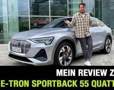 2020 Audi e-tron Sportback S line 55 quattro (408 PS) - E-SUV-Coupé im Review | Fahrbericht | Test