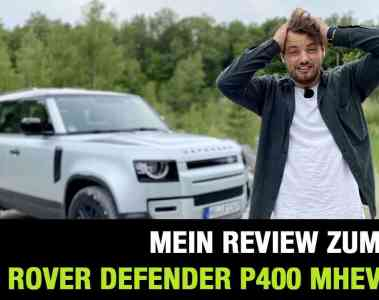 2020 Land Rover Defender P400 MHEV 110 (400 PS) - Offroad- und Onroad Fahrbericht   Review   Test