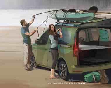 Erste Fotos vom neuen VW Mini-Camper