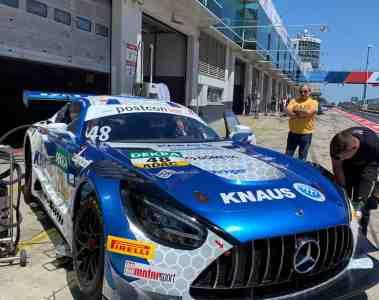 Saisonauftakt auf dem Lausitzring - Knaus Raptor bei den ADAC GT Masters