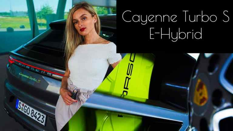 Porsche Cayenne Turbo S E-Hybrid Coupé (2020) - Hot or not? - Porsche Moment POV I Review I Sound, NinaCarMaria