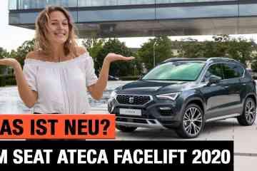 Seat Ateca (2020) - Was ist NEU am Facelift? - Review | Test | Interieur | Sitzprobe | Motoren | POV