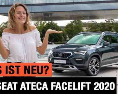 Seat Ateca (2020) - Was ist NEU am Facelift? - Review   Test   Interieur   Sitzprobe   Motoren   POV
