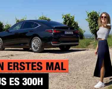 """Mein erstes Mal: Lexus ES 300h """"Luxury Line"""" (2020) - Fahrbericht   Review   Test   Hybrid"""