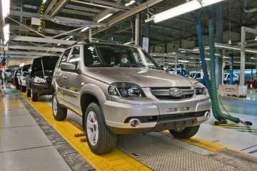 Produktion des Lada Niva.