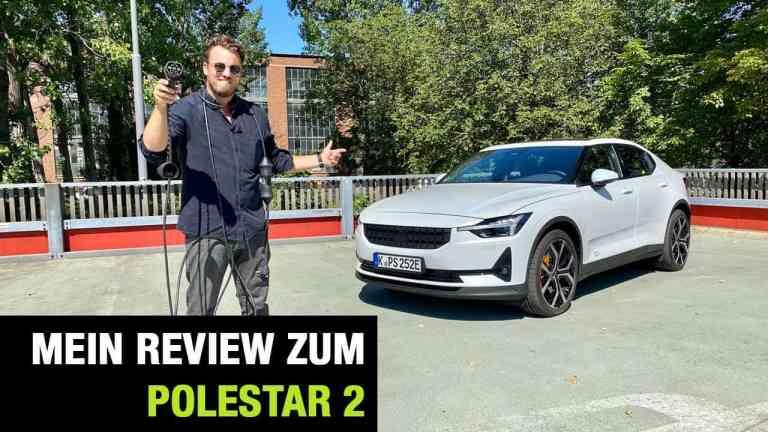 2020 Polestar 2 (408 PS)- The Game Changer vs. Tesla Model 3 Jäger? Fahrbericht | Review | Test, Jan Weizenecker