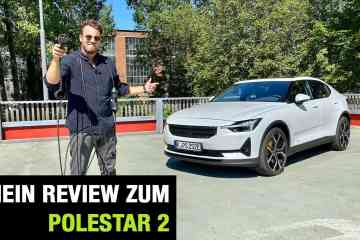 2020 Polestar 2 (408 PS)- The Game Changer vs. Tesla Model 3 Jäger? Fahrbericht | Review | Test, Jan Weizenecker