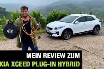 "2020 Kia XCeed Plug-in Hybrid ""Spirit"" (141 PS) -Fahrbericht 