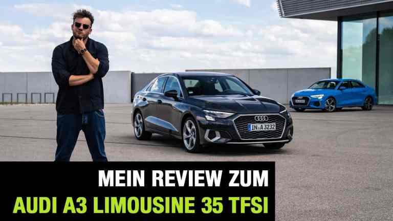"""2020 Audi A3 Limousine 35 TFSI """"edition one"""" (150 PS) -Der ElitePartner? Fahrbericht   Review   Test"""