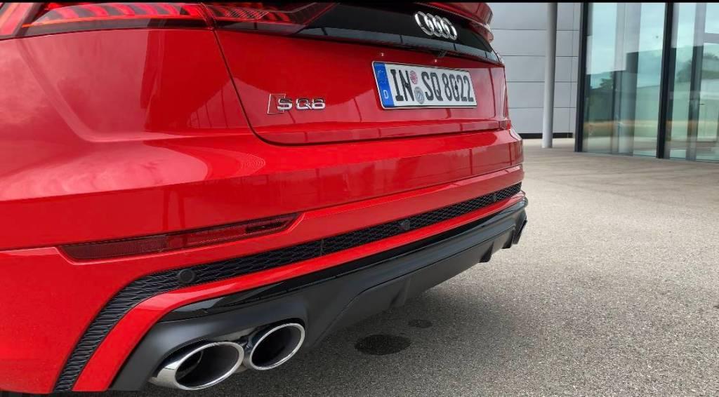 2020 Audi SQ8 4.0 TFSI tiptronic quattro