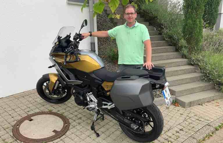 Die neue BMW F900XR (895ccm)