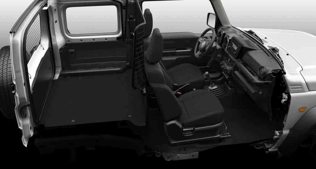 #Suzuki #Jimny wird zum Transporter