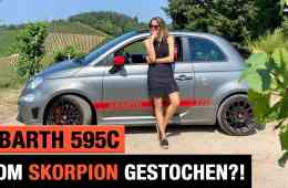 Abarth 595 Cabrio Competizione (2020) - Vom Skorpion gestochen?! Review | Test | Sound | POV