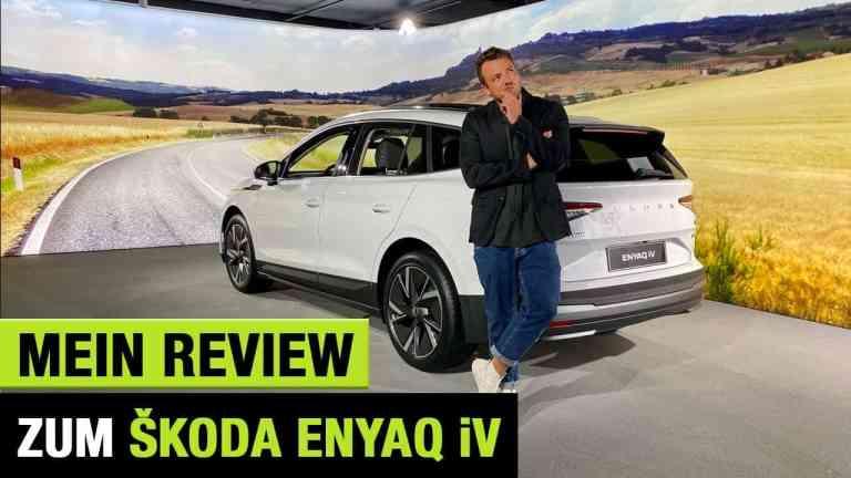 Skoda Enyaq iV (2021) - Game Changer zum Endgegner-Preis: E-SUV für unter 25.000€!? - Review | Test