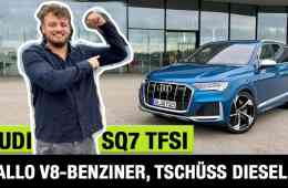 "2020 Audi SQ7 TFSI (507 PS) - ""Hallo V8-Benziner, tschüss Diesel!"" - Fahrbericht | Review | Test"