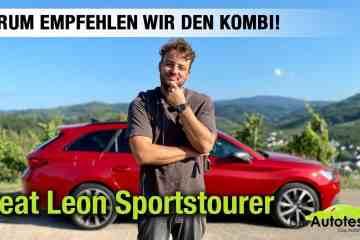2021 Seat Leon Sportstourer im Test! - Darum empfehlen wir den Kombi! - Fahrbericht | ST FR Review