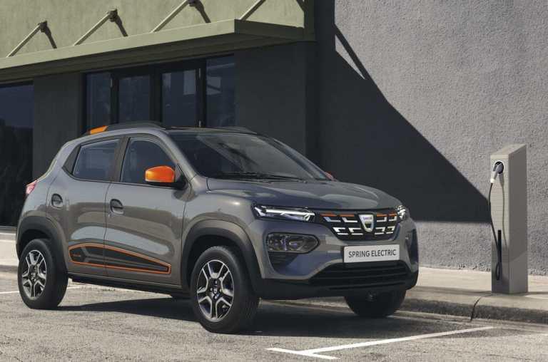 Elektro-Dacia geht in Frankreich in die Vermietung