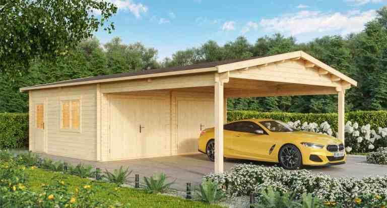 Die Holzgarage: Preiswerte Alternative mit Vorteilen