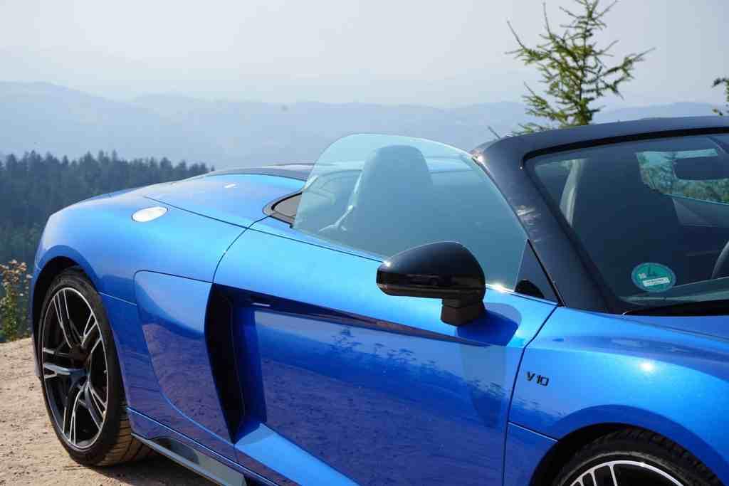 Mit 540 PS durch den Schwarzwald - Was kann der Audi R8 V10 RWD (2020)? Autobahn vs. Blackforest
