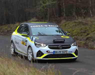 Opel e-Rally Cup: Grünes Licht für elektrischen Markenpokal