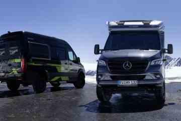 Hymer Crossover: Zwei neue Allradler für den Abenteuer-Urlaub