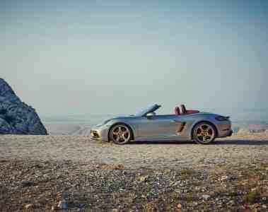 Neues limitiertes Sondermodell - Porsche Boxster 25 Jahre - bestellbar