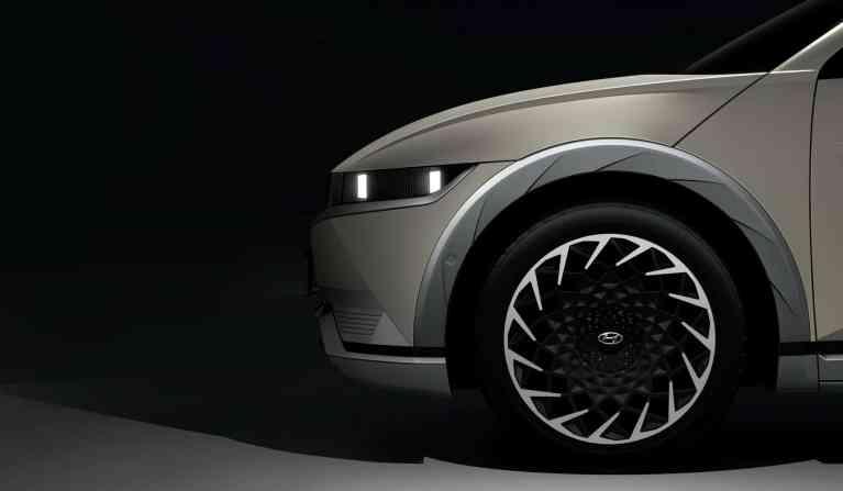 Der elektrische Hyundai Ioniq 5 kommt im Sommer