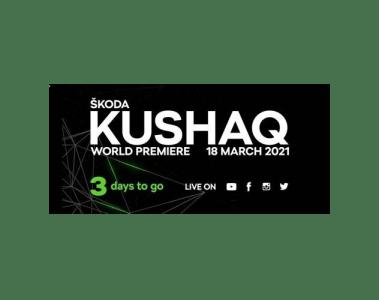 Skoda überträgt Weltpremiere seines neuen Kushaq online