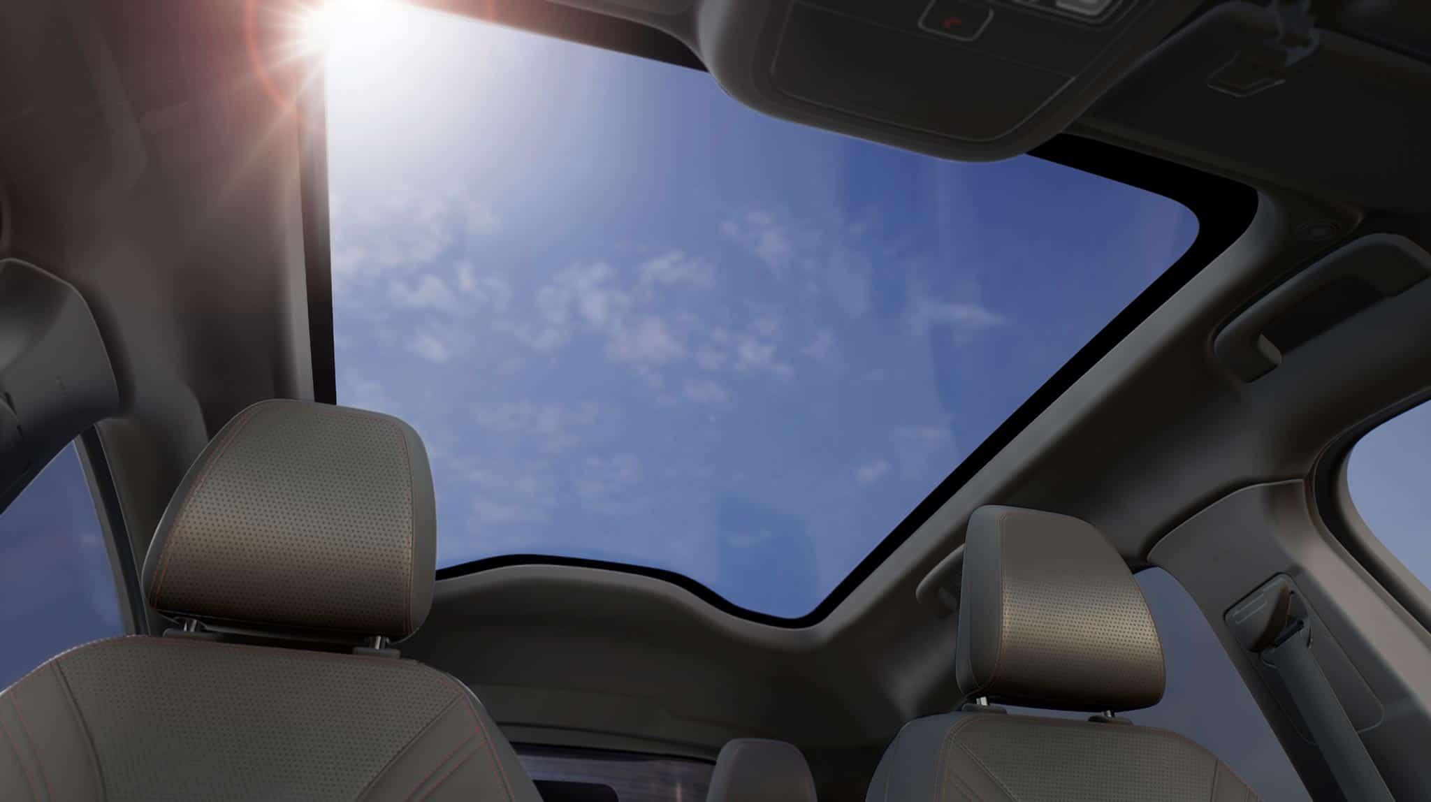 Ford Mustang Mach-E (2021) - Game-Changer für den Elektro-Automarkt?, Panoramadach