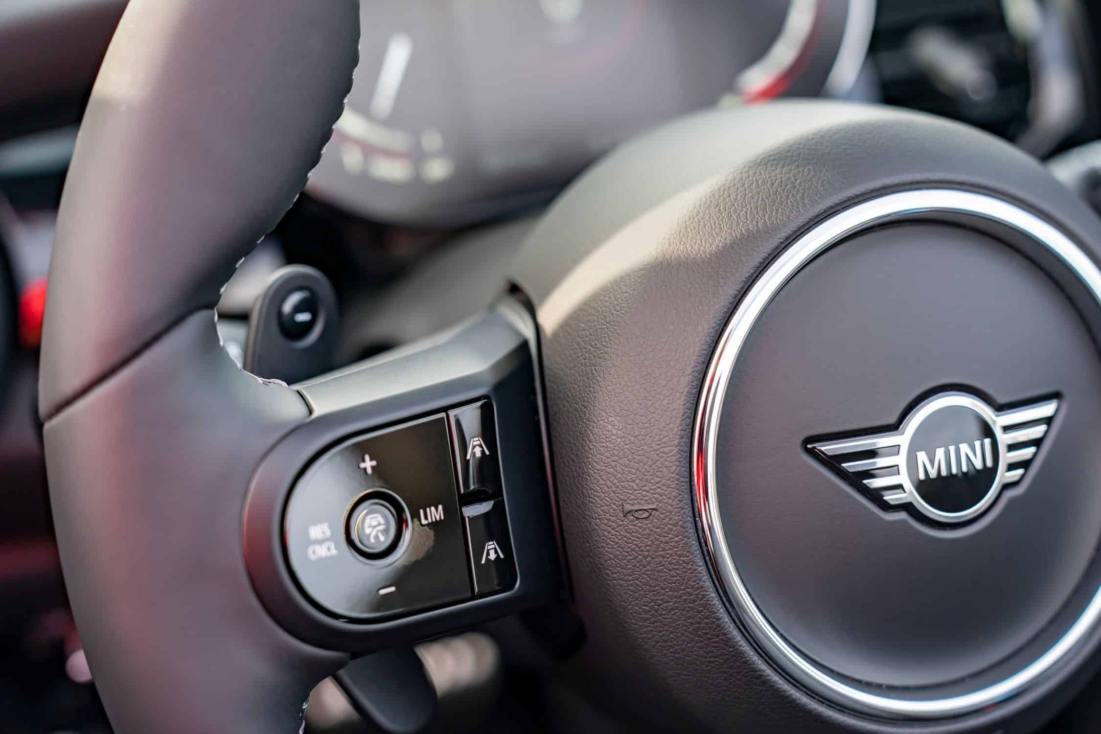 Mini Cabrio, Lenkrad