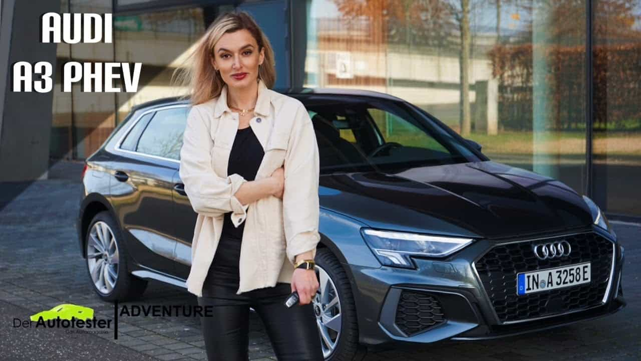 Audi A3 Sportback 40 TFSI e (2021) -Wie weit schafft es der neue Plug-in Hybride? - Review I Fahrbericht