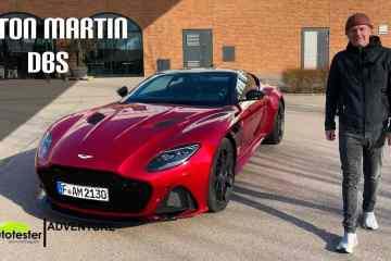 Aston Martin DBS Superleggera 2021 - Die britische Speed-Verlockung für den Autotester -Test I Sound