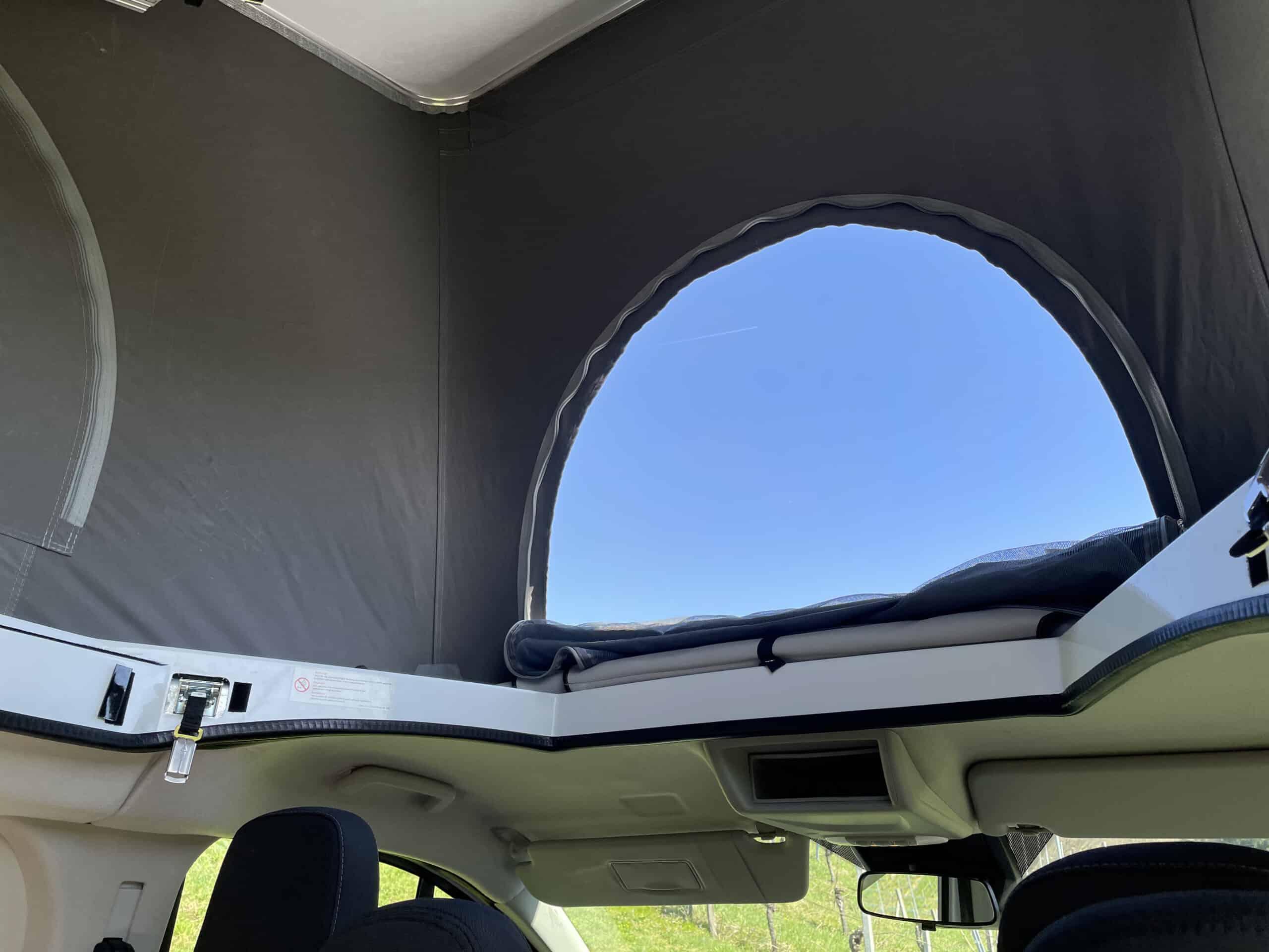 Bürstner Copa - Neuer CamperVan auf Ford Transit Basis, Dachfenster
