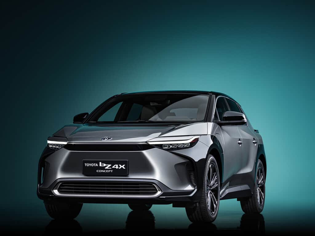 Toyota bZ4X Concept.