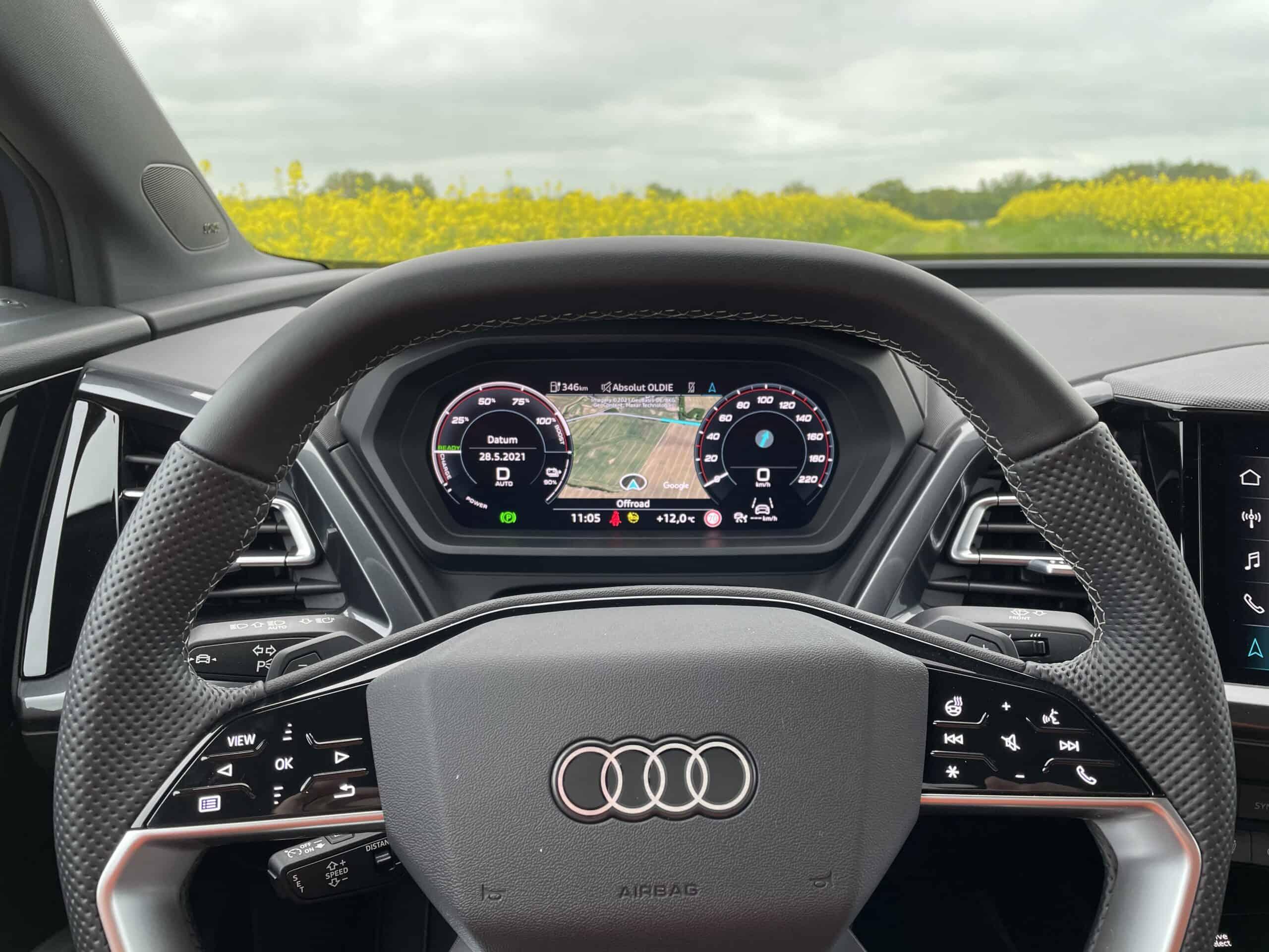 Audi Q4 e-tron Sportback (2021), Lenkrad