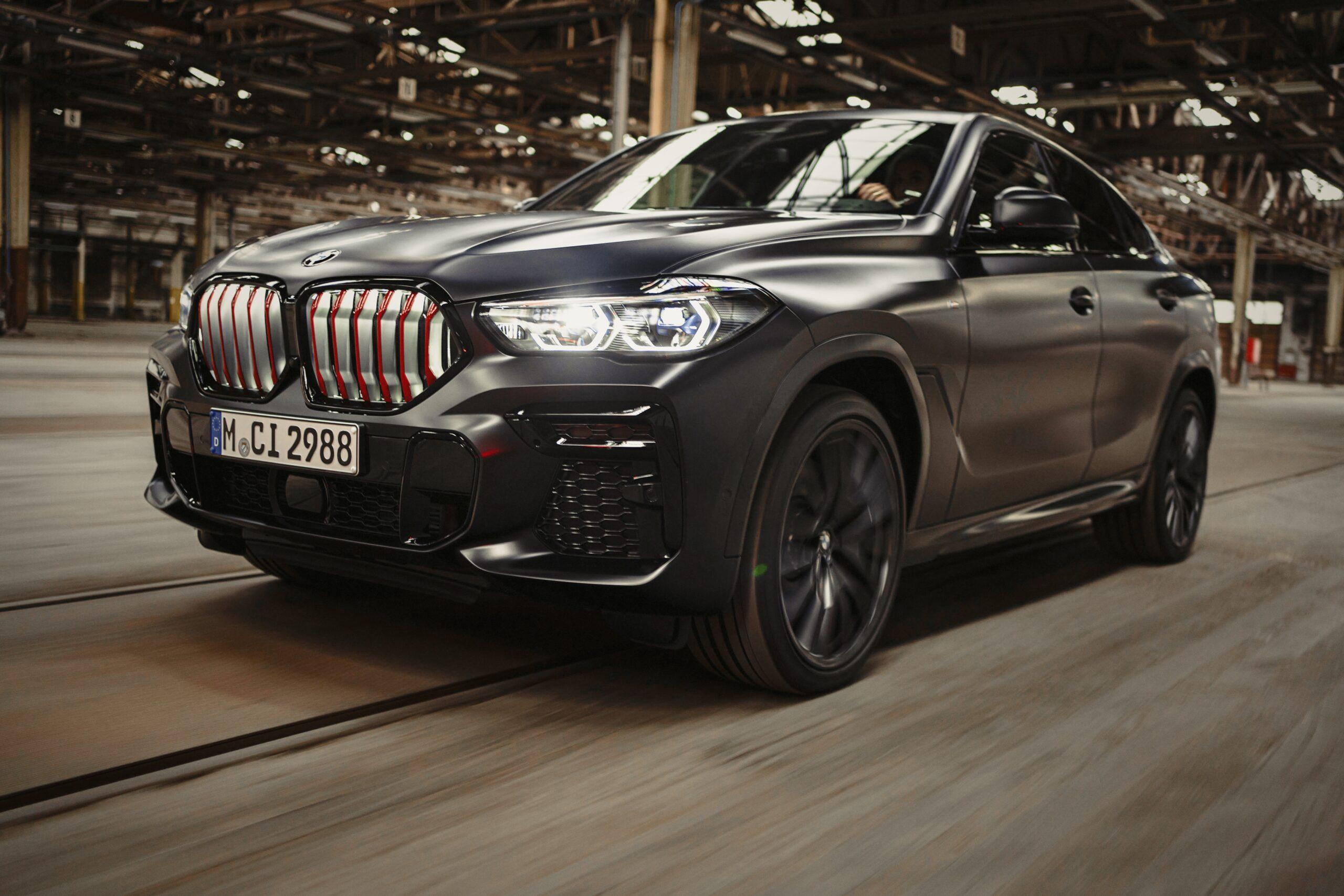 Black Vermilion – Limierte Edition von BMW X5, X6 und X7