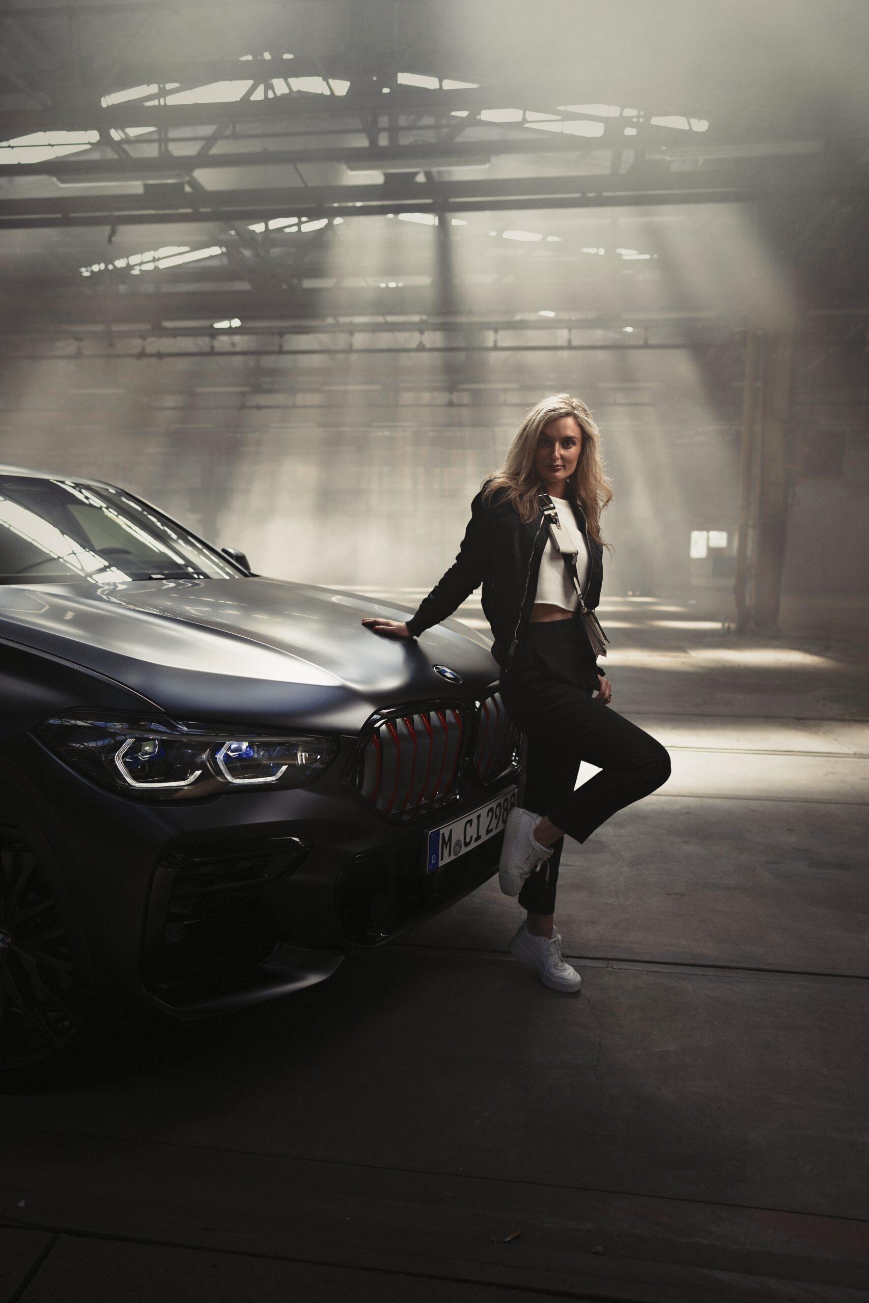 Black Vermilion – Limierte Edition von BMW X5, X6 und X7, Nina weizenecker