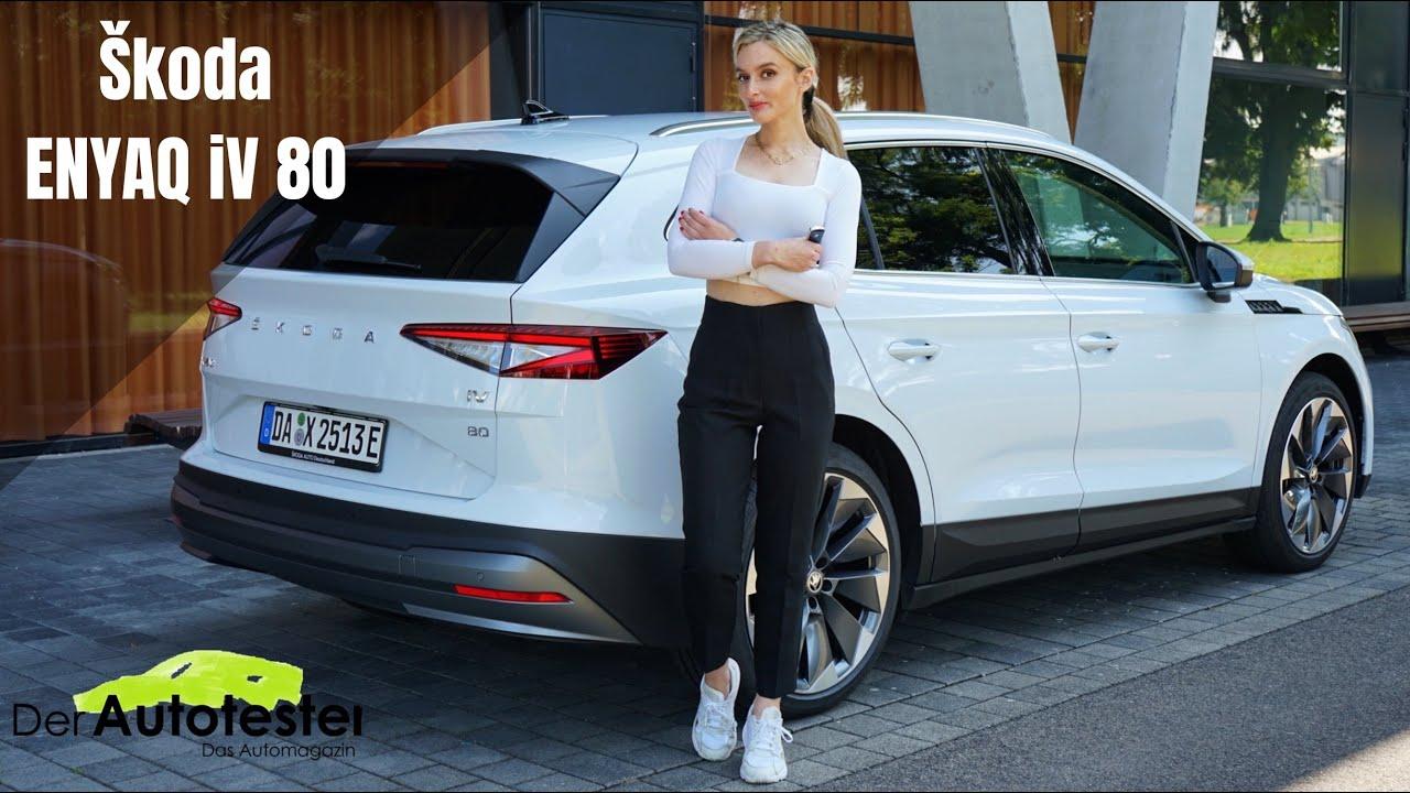 Skoda Enyaq iV 80 - Das tschechische Elektro SUV 2021