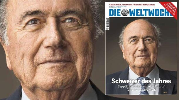 Hat mehr für die Schweiz getan als Ogi und Kliby und Caroline: Sepp Blatter.