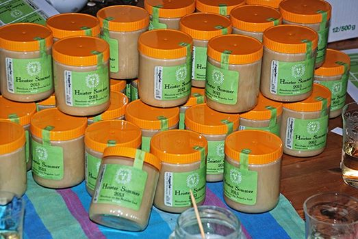 Honig aus dem Freigarten