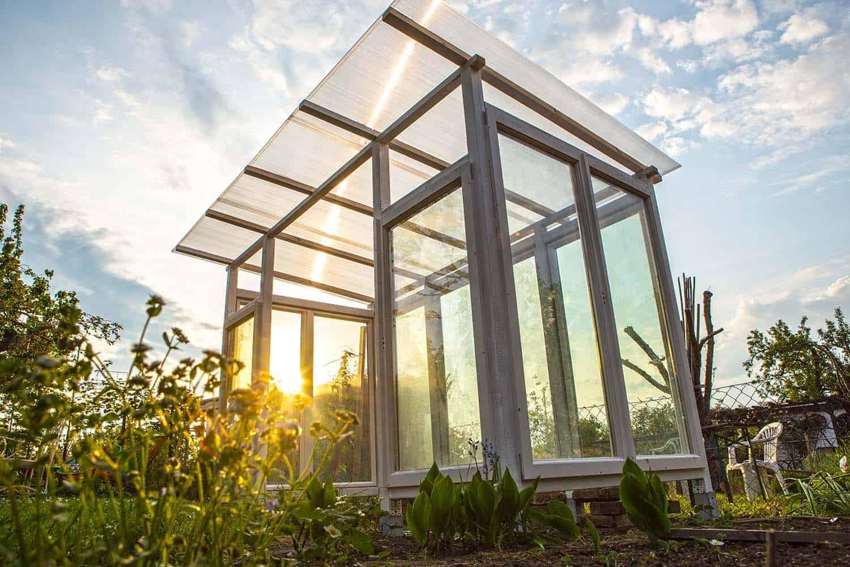 Gartenhaus Aus Alten Fenstern Fenster Gartenhaus