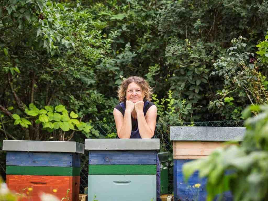 Bienensaison 2017 die Imkerin
