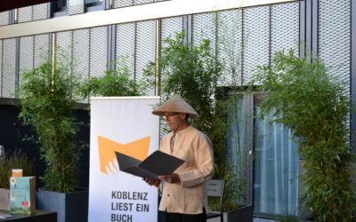 Vorlesen für Erwachsene – Aktion: Koblenz liest ein Buch!
