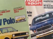 Autos, Tests und Fahrberichte aus einer anderen Zeit