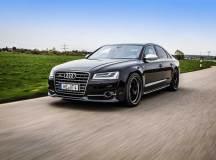 Der schwarze ABT – Audi S8 mit 640 PS